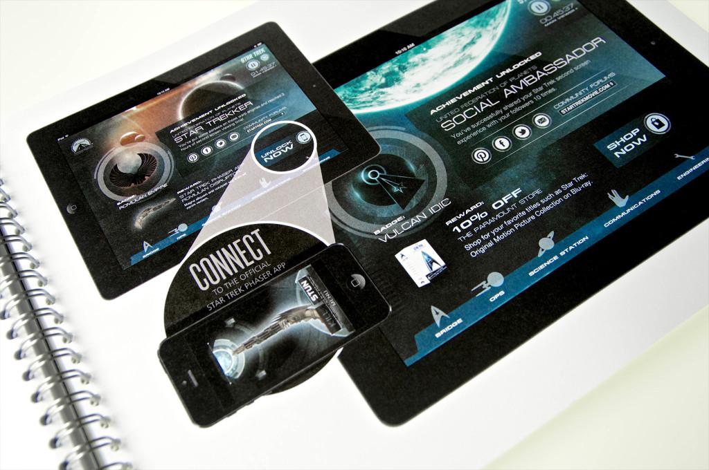 Star Trek second screen app concepts