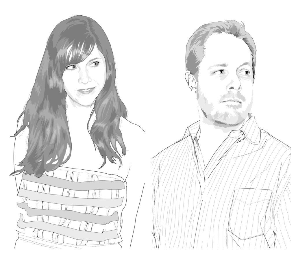 Bridget Shiels and Scott Seward illustrations