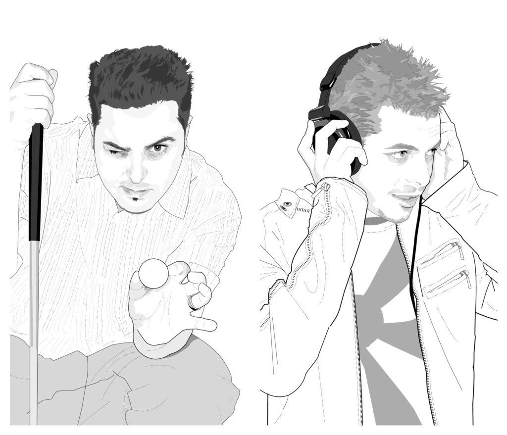 Chris Tellez and Jason Cook illustrations