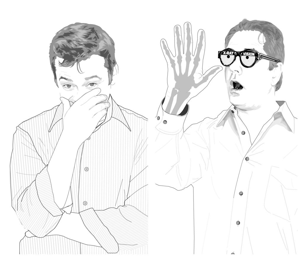 Aaron Nather and Patrick Shipstad illustrations