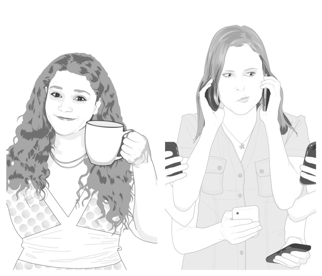 Stephanie Warner and Michelle Rosenfield illustrations