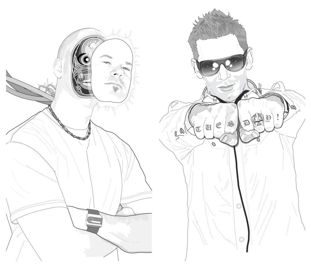 Beau Gieson and Ian Loyd illustrations