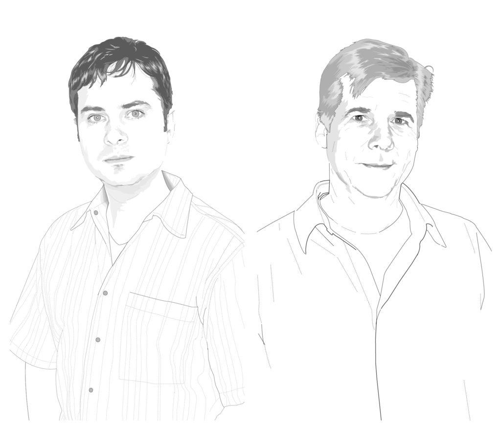 Steven Running and Johnnie Biggs illustrations