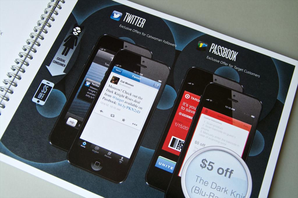 Dark Knight Rises mobile engagement