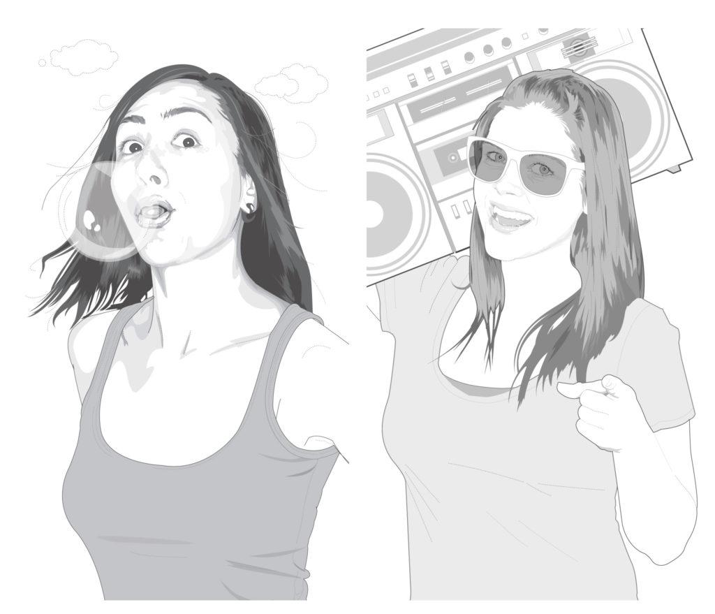 Jen Murse & Valerie Painter illustrations