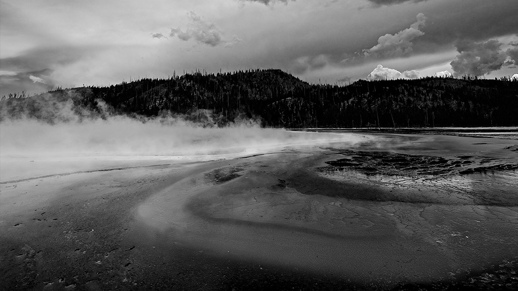 Landscapes from Yellowstone National Park