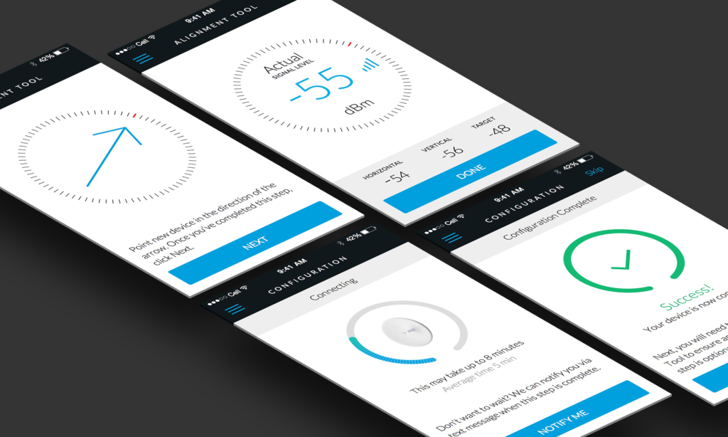 airControl mobile provisioning