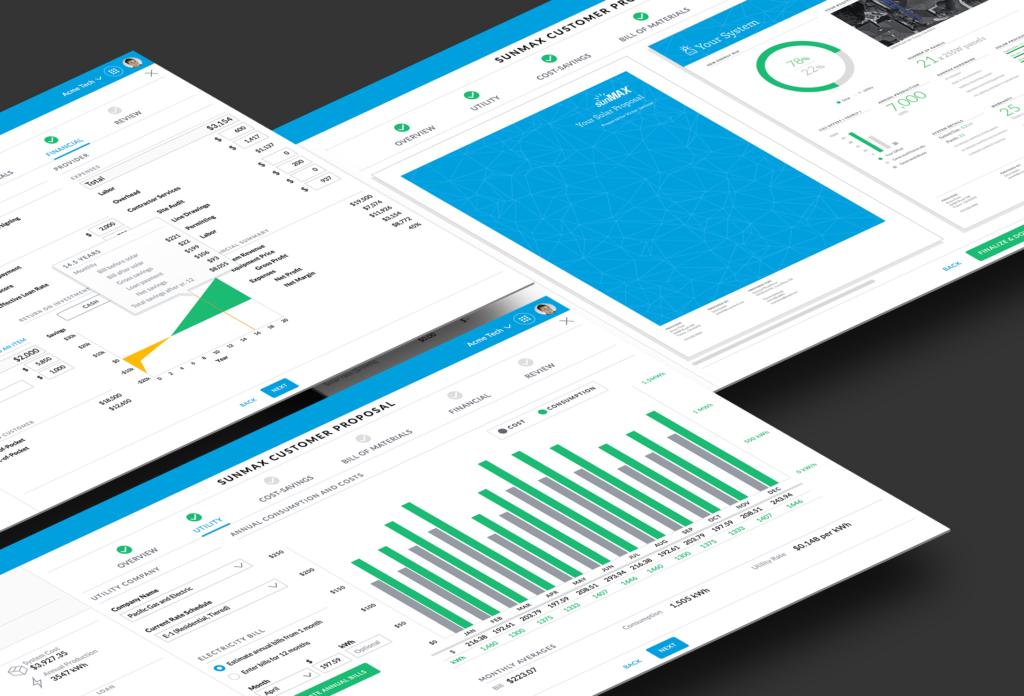 sunLink customer proposal generator